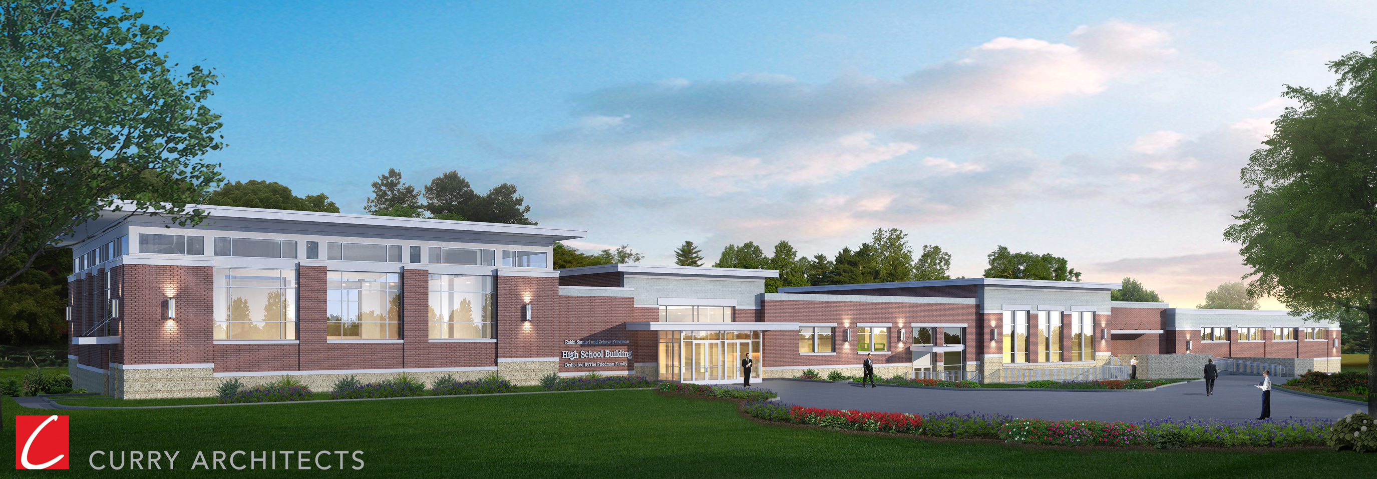 High School Rendering