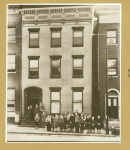 First TA Building – Asquith Street – 1917