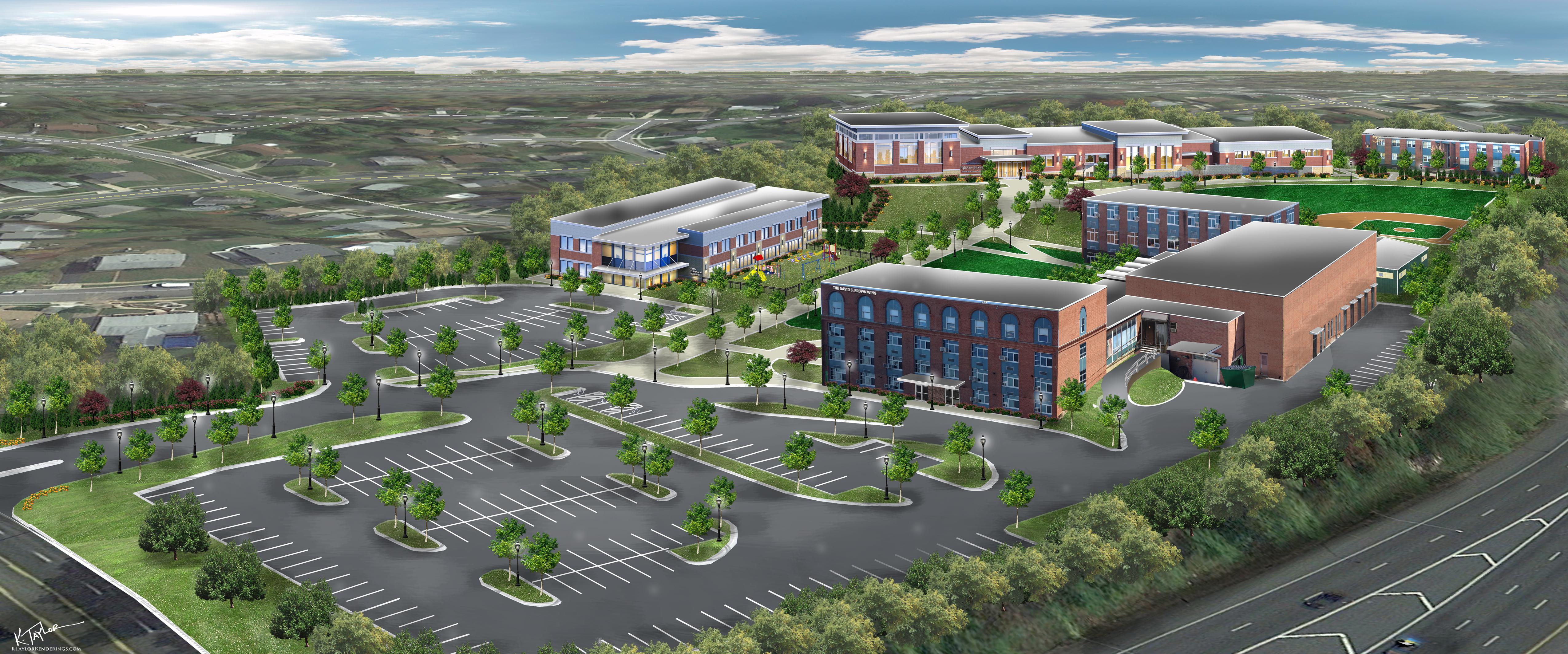 Campus Rendering